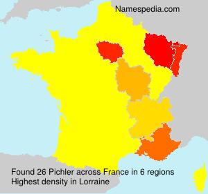 Surname Pichler in France