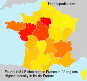 Familiennamen Pichot - France
