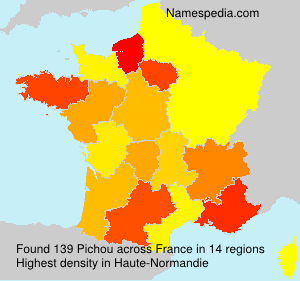 Surname Pichou in France