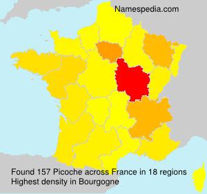 Surname Picoche in France