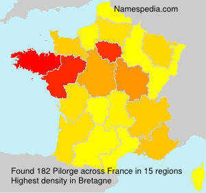 Surname Pilorge in France