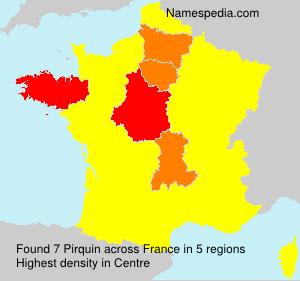 Surname Pirquin in France