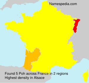 Surname Poh in France