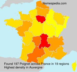 Poignet - France