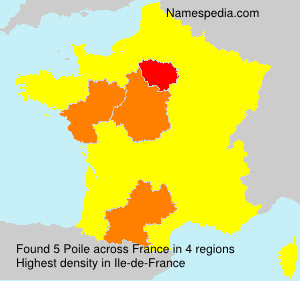 Surname Poile in France