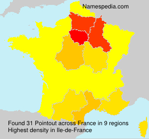 Surname Pointout in France