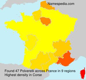 Surname Polverelli in France