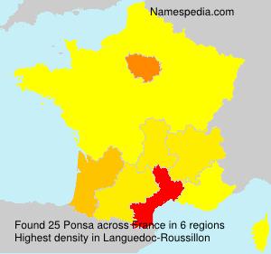 Ponsa - France