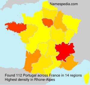 Familiennamen Portugal - France
