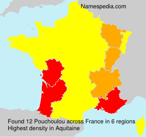 Surname Pouchoulou in France