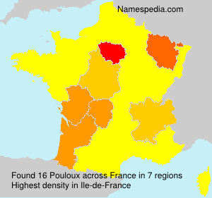 Surname Pouloux in France