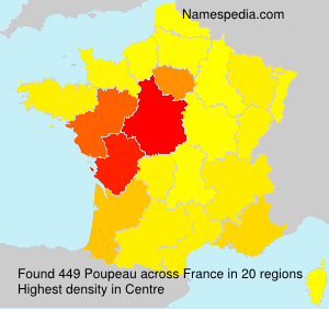 Surname Poupeau in France