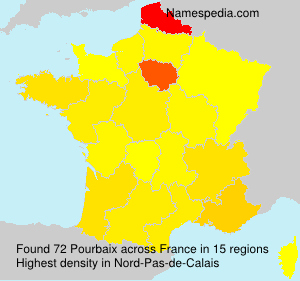 Surname Pourbaix in France