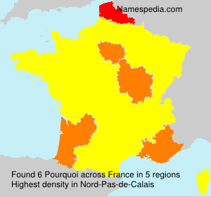 Surname Pourquoi in France