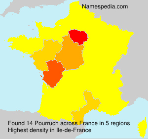 Surname Pourruch in France