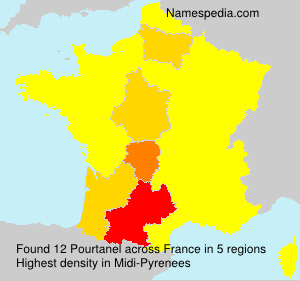 Surname Pourtanel in France