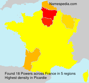 Surname Powers in France