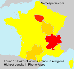 Surname Pozzuoli in France