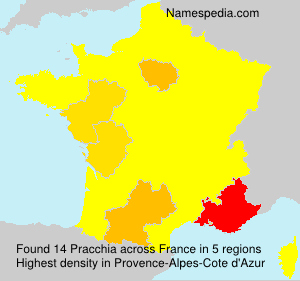 Pracchia - France
