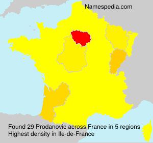 Prodanovic - France