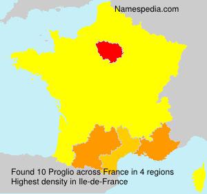 Surname Proglio in France