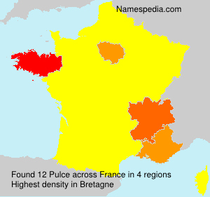 Surname Pulce in France