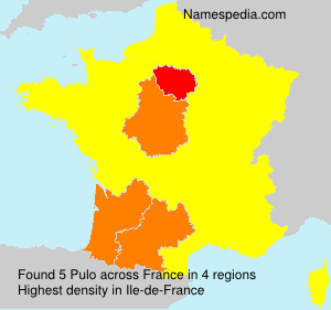 Surname Pulo in France