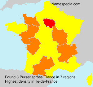 Surname Purser in France