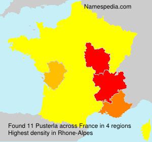 Surname Pusterla in France