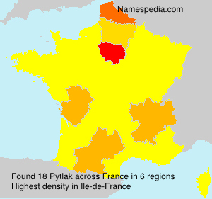 Surname Pytlak in France