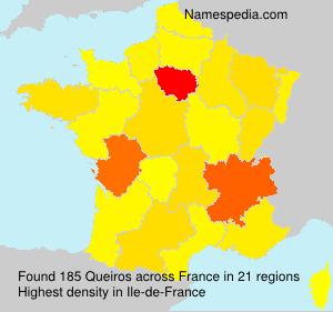 Familiennamen Queiros - France