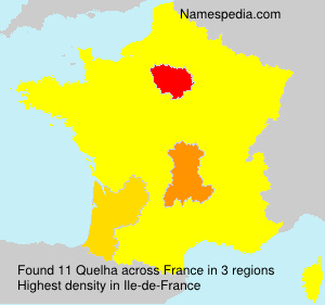 Surname Quelha in France