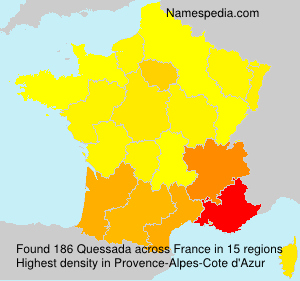 Surname Quessada in France