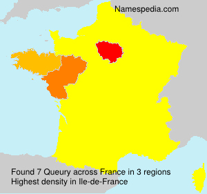 Surname Queury in France