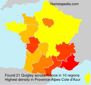 Surname Quigley in France
