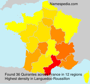 Surname Quirantes in France