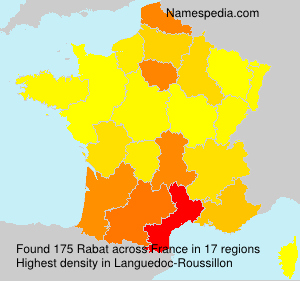 Surname Rabat in France