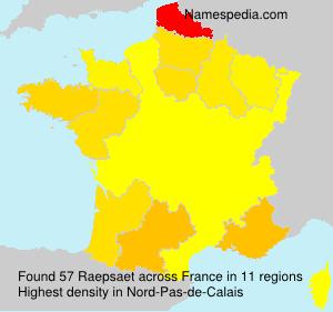 Raepsaet - France