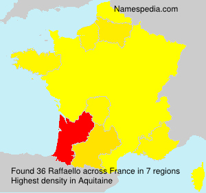 Surname Raffaello in France