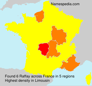 Surname Raffay in France