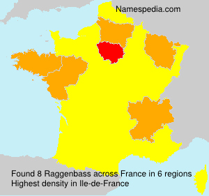 Surname Raggenbass in France