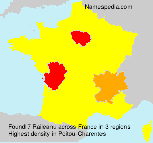 Surname Raileanu in France