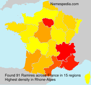 Familiennamen Ramires - France