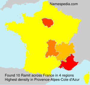 Surname Ramit in France