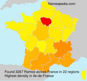 Familiennamen Ramos - France