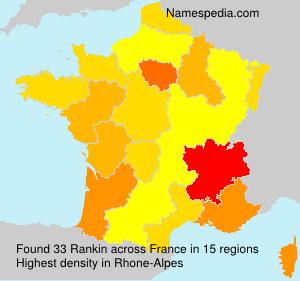 Familiennamen Rankin - France
