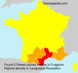 Surname Rawes in France
