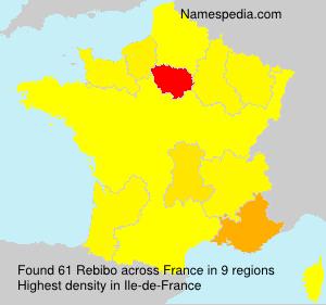 Surname Rebibo in France