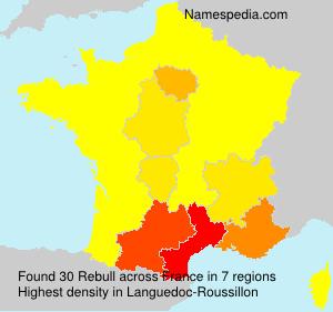 Surname Rebull in France