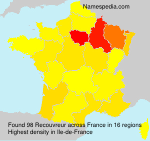 Surname Recouvreur in France